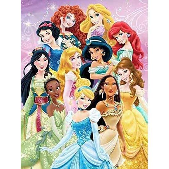 Punto de Cruz Diamante Disney